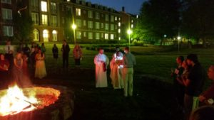 Blessing of Fire Easter Vigil 2017